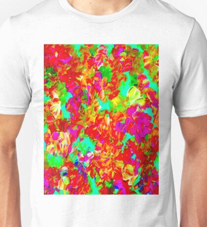 """ABSTRACT FLOWER GARDEN"" Painting Print Unisex T-Shirt"