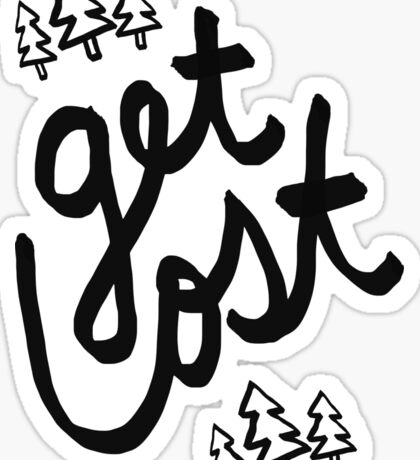 Get Lost x Muir Woods Sticker