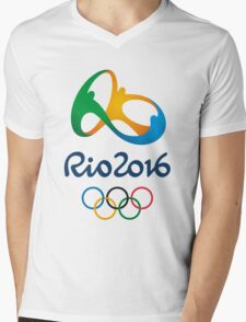 rio olympic 2016 Mens V-Neck T-Shirt