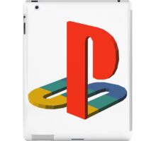 3-D Playstation Logo iPad Case/Skin
