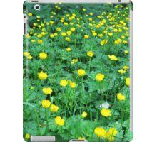 Buttercup Field iPad Case/Skin