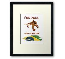 Paul - Brazil! Framed Print