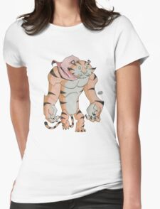 Cereal Monster: Tony the Tiger Womens Fitted T-Shirt