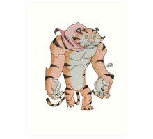 Cereal Monster: Tony the Tiger Art Print
