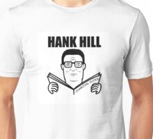 Hank Hill , Charcoal Sucks album art Unisex T-Shirt