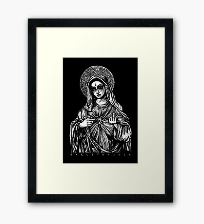 Mother Mary 2 Framed Print