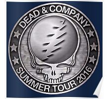 Summer Tour Silver Poster