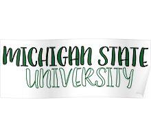 Michigan State University Poster