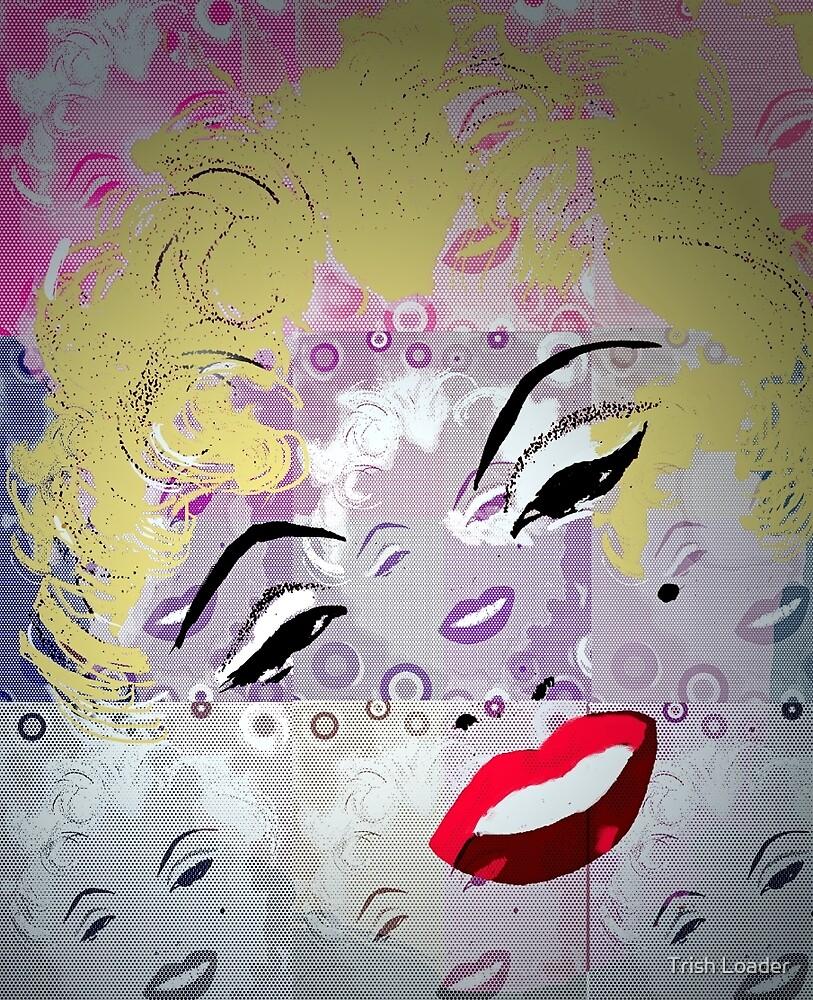 Marilyn Pop Art by Trish Loader