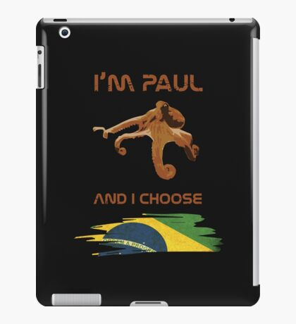 Paul - Brazil! iPad Case/Skin