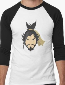 Minimalist Hanzo Men's Baseball ¾ T-Shirt
