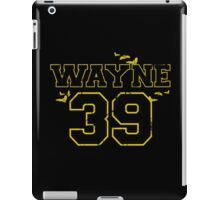 "Wayne ""39"" iPad Case/Skin"