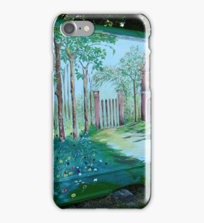 VILLAGE ALLOTMENT PROJECT iPhone Case/Skin