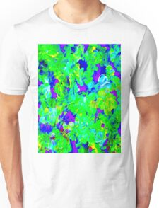 """FLOWER GARDEN ART DECO"" Abstract Painting Print Unisex T-Shirt"