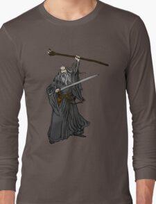 Gandalf The Grey Cartoon Long Sleeve T-Shirt