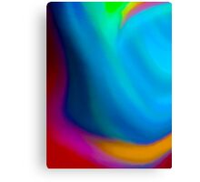 Simply Color Abstract Canvas Print