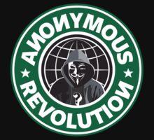 Anonymous Revolution 2014 Baby Tee