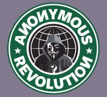 Anonymous Revolution 2014 Kids Clothes