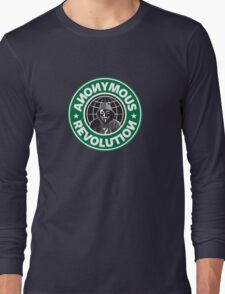 Anonymous Revolution 2014 Long Sleeve T-Shirt