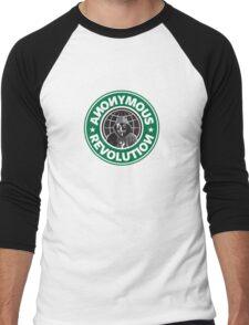 Anonymous Revolution 2014 Men's Baseball ¾ T-Shirt