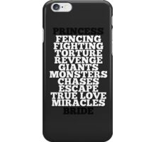 The Princess Bride iPhone Case/Skin