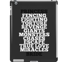 The Princess Bride iPad Case/Skin