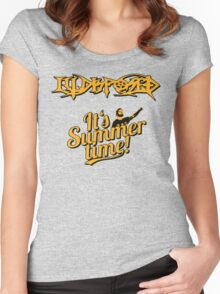 Illdisposed It's Summer time Women's Fitted Scoop T-Shirt