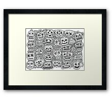 Oodles of Doodles Framed Print