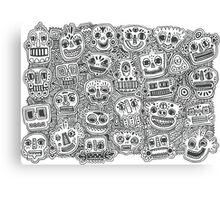 Oodles of Doodles Canvas Print