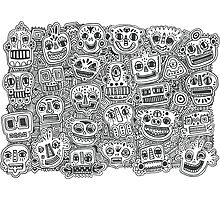 Oodles of Doodles Photographic Print