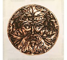 The Bronze Man  Photographic Print