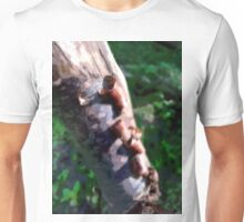 Blurred bark Unisex T-Shirt