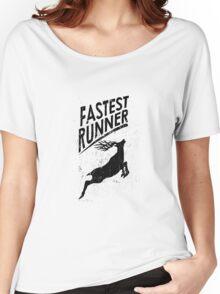 fastest runner Women's Relaxed Fit T-Shirt