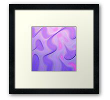 Getting a Groove On Framed Print