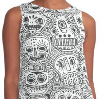 Oodles of Doodles Contrast Tank