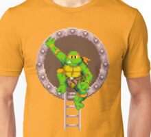 TURTLES IN TIME - MICHAELANGELO  Unisex T-Shirt