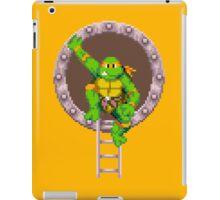 TURTLES IN TIME - MICHAELANGELO  iPad Case/Skin