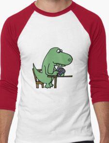 Funny T-Rex Dinosaur Playing Cards  T-Shirt