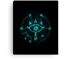 The Eye Of The Shadows Canvas Print