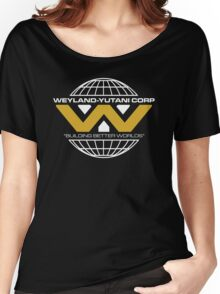 The Weyland-Yutani Corporation Globe - Clean Women's Relaxed Fit T-Shirt