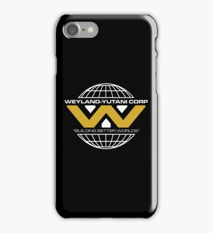 The Weyland-Yutani Corporation Globe - Clean iPhone Case/Skin
