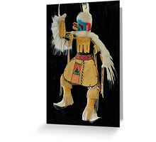 Eagle Kachina Dancer Greeting Card