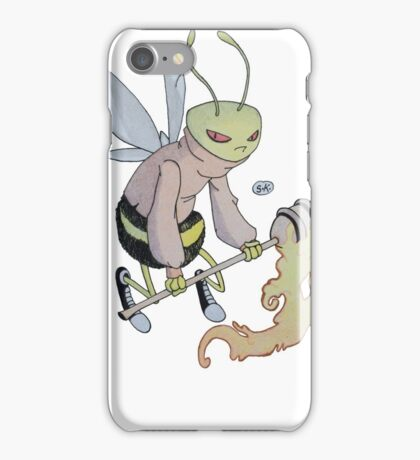 Cereal Monster: Buzz Bee iPhone Case/Skin