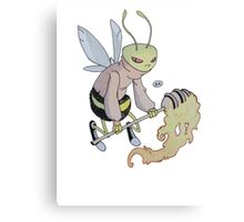 Cereal Monster: Buzz Bee Canvas Print