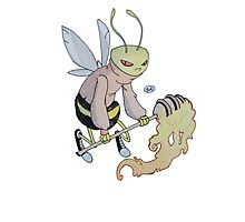 Cereal Monster: Buzz Bee Photographic Print