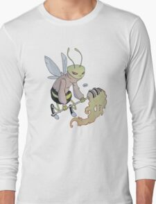 Cereal Monster: Buzz Bee Long Sleeve T-Shirt