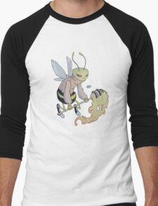 Cereal Monster: Buzz Bee Men's Baseball ¾ T-Shirt