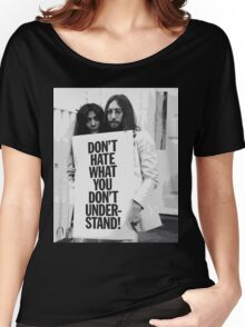 don't hate Women's Relaxed Fit T-Shirt