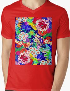 """""""COLORFUL ABSTRACT FLOWER"""" Art Print T-Shirt"""