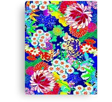 """""""COLORFUL ABSTRACT FLOWER"""" Art Print Canvas Print"""
